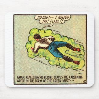 Vintage Aman cómico del kitsch Alfombrilla De Raton
