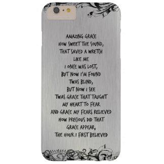 Vintage Amazing Grace Hymn Lyrics Barely There iPhone 6 Plus Case