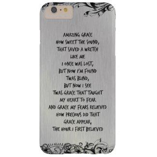 Vintage Amazing Grace Hymn Lyrics iPhone 6 Plus Case
