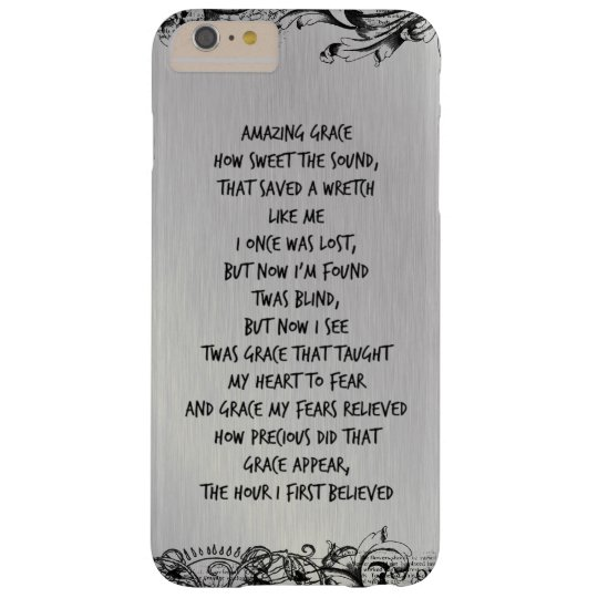 That Saved a Wretch Like Me iphone case