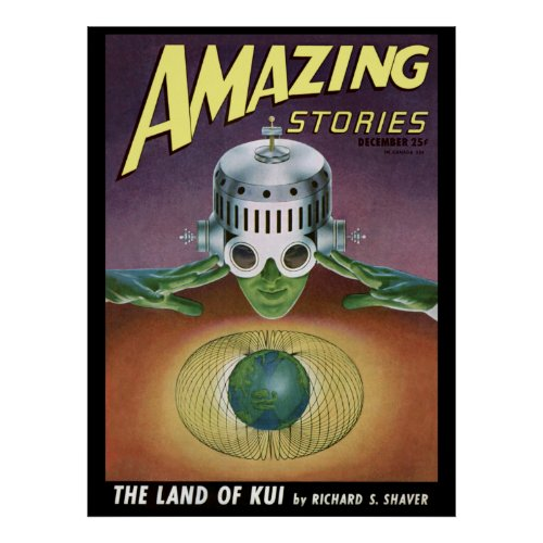 "Vintage ""Amazing Stories"" pulp comic"