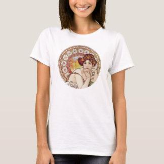 Vintage Amber Art Nouveau T-Shirt