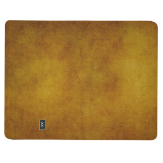 Vintage Amber Paper Parchment Background Template Journal