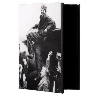 Vintage Amelia Earhart  Photo Cover For iPad Air