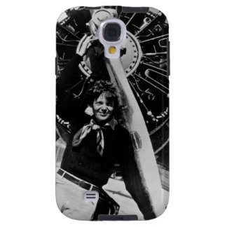 Vintage Amelia Earhart Photo Galaxy S4 Case