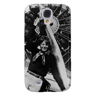 Vintage Amelia Earhart  Photo Galaxy S4 Cover