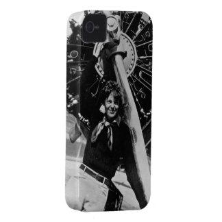 Vintage Amelia Earhart Photo iPhone 4 Cover