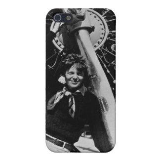 Vintage Amelia Earhart  Photo iPhone SE/5/5s Case