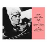Vintage Amelia Earhart Photo Post Card