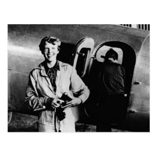Vintage Amelia Earhart  Photo Postcard