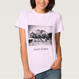 Vintage Amelia Earhart  Photo Tee Shirt