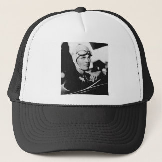 Vintage Amelia Earhart Photo Trucker Hat