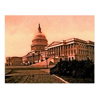 Vintage América del Washington DC del edificio del Tarjeta Postal