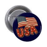Vintage America Flag Pins