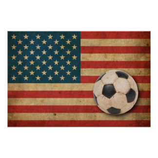 Vintage America Flag Posters