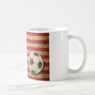 Vintage America Football Classic White Coffee Mug
