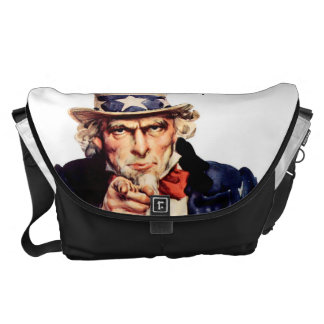 vintage america messenger bag