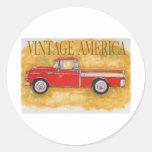 Vintage América Pegatina
