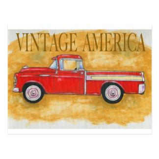 Vintage america postcard