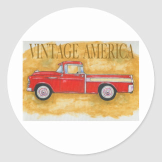 Vintage america sticker