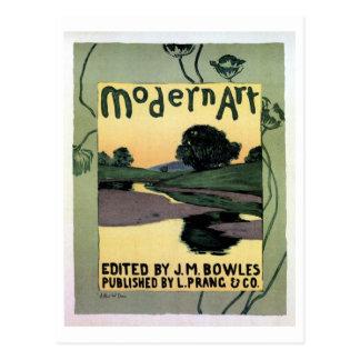 Vintage American Art nouveau expo Postcard