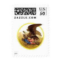 Vintage American Bald Eagle Postage