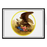 Vintage American Bald Eagle w/Shield Cards