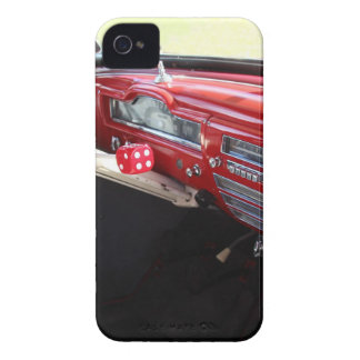 Vintage American car interior classic 1950s cars Case-Mate iPhone 4 Case