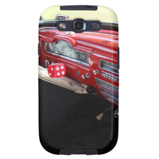 Vintage American car interior classic 1950s cars Galaxy S3 Cases