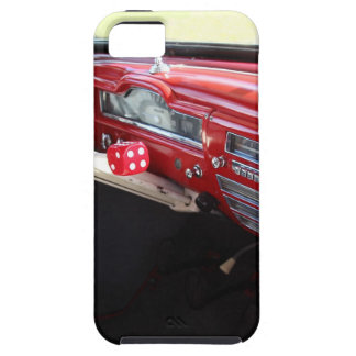 Vintage American car interior classic 1950s cars iPhone 5/5S Covers