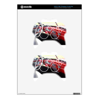 Vintage American car interior classic 1950s cars Xbox 360 Controller Decal