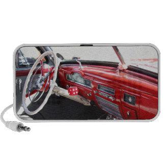 Vintage American car interior classic 1950s cars Mp3 Speaker