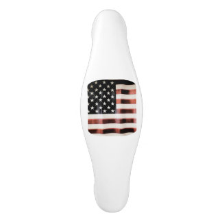 Vintage American flag Ceramic Cabinet Pull