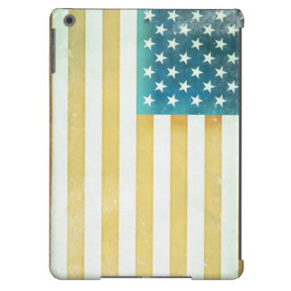 Vintage American Flag Cover For iPad Air