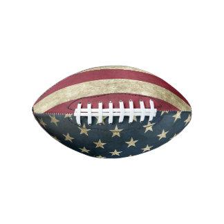 Vintage American Flag Football