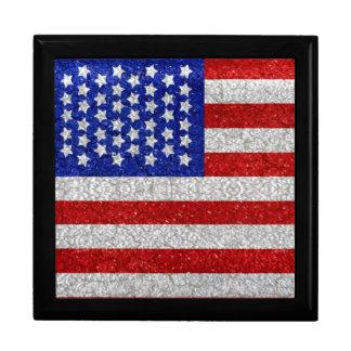 Vintage American Flag giftbox Gift Box