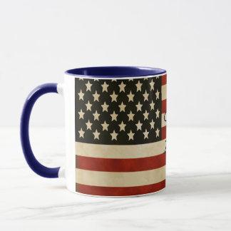 Vintage American Flag GIFTS Mug