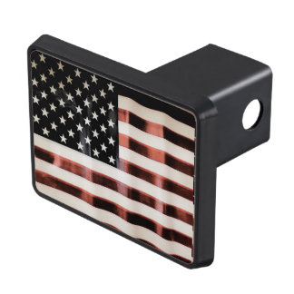 Vintage American Flag HFPHOT01 Hitch Cover