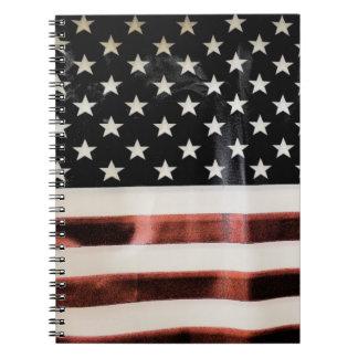 Vintage American Flag HFPHOT01 Notebook