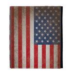 Vintage American Flag iPad Cases