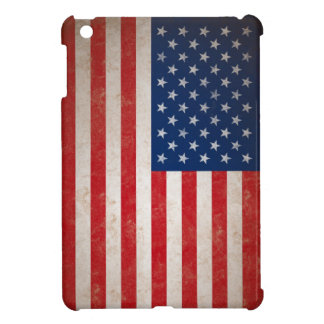 Vintage American Flag iPad Mini Cover
