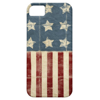 Vintage American Flag iPhone 5 Barely There Case