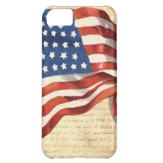 Vintage American Flag iPhone 5C Cases