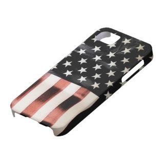 Vintage American Flag iPhone SE/5/5s Case
