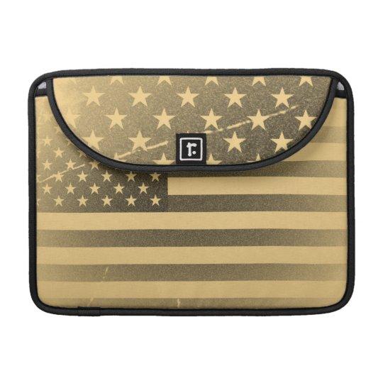Vintage American Flag MacBook Pro Sleeve