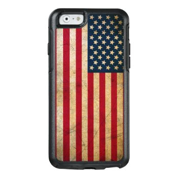 Vintage American Flag Otterbox Iphone 6 Case by LaptopComputerBag at Zazzle
