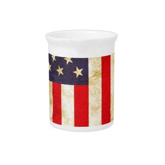 Vintage American Flag Pitchers