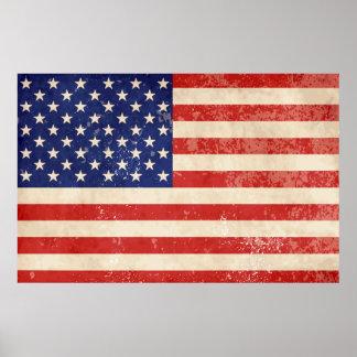 Https Www Zazzle Com American Flag Posters