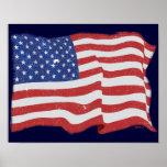 Vintage American Flag Posters