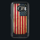 """Vintage American Flag Samsung Galaxy S7 Case<br><div class=""""desc"""">Vintage American Flag OtterBox Commuter Samsung Galaxy S7 Case. Get your phone ready to survive the daily grind. The OtterBox Commuter is built for business - and when we say business,  we mean business. Dual-layer defense guards against drops and tumbles,  while the slim pocket-friendly design makes a serious impression.</div>"""